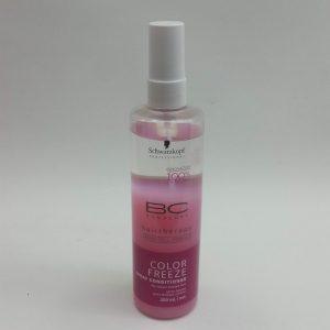 """ספריי קונדישינר """"קולור פריז"""" 200מ""""ל שוורצקופף מסדרת Schwarzkopf BC Hair Therapy Color Freeze"""