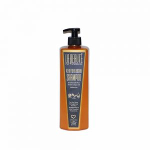 שמפו קרטין טהור ושמן ארגן ללא מלחים לשיער יבש, צבוע ופגום 750 מל' – לה בוטה – La Beauté